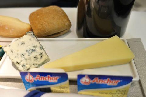 エールフランスのチーズ