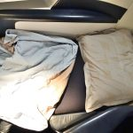 エールフランスB777-300フルフラットベッドの寝心地は?ビジネスクラス搭乗記