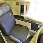 エールフランス航空ビジネスクラス搭乗記!シートとアメニテ/CDG-HND