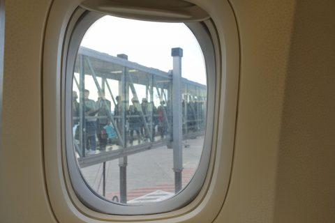エコノミークラスの搭乗/エールフランス