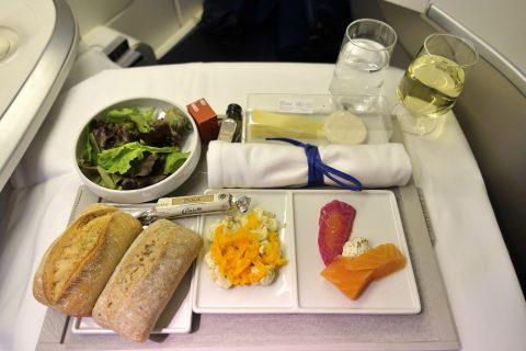 前菜/エールフランスビジネスクラス