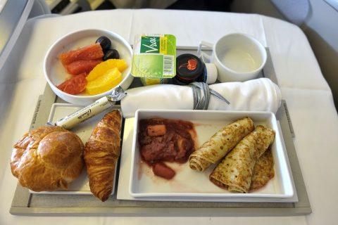 機内食の朝食/エールフランス
