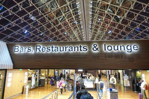 パリCDG空港レストランフロア