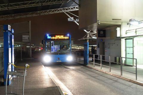 パリCDG空港シャトルバス