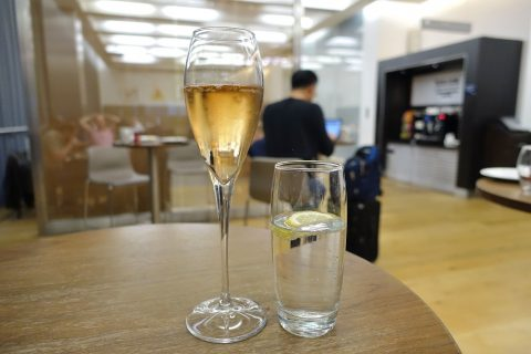 galleries-first-lounge-london-t5/シャンパンの味