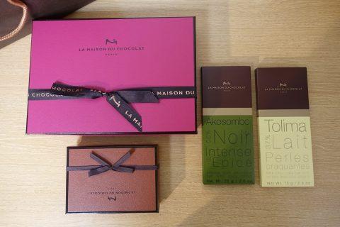 la-maison-du-chocolat/お土産