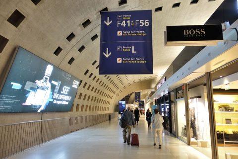 paris-CDG/ターミナル2F
