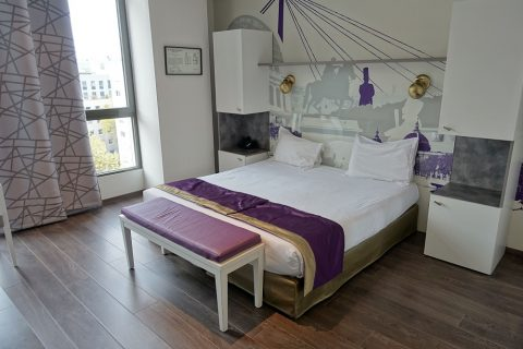 Lagrange-Apart-HOTEL-Lyon/ベッド