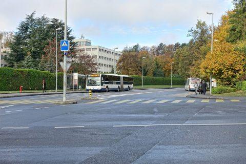 Palais-des-Nations/バス乗り場