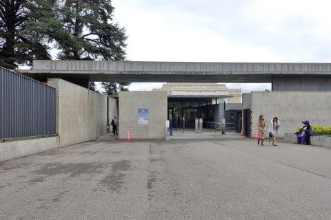 Palais-des-Nations/ガイドツアー入口