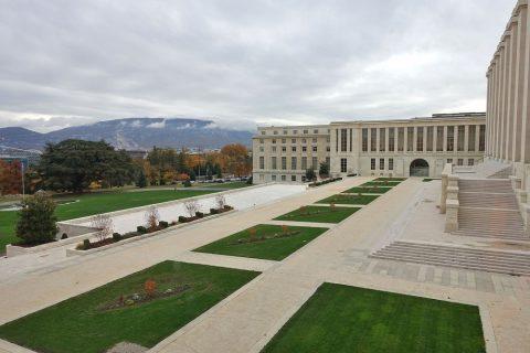 Palais-des-Nation/中庭