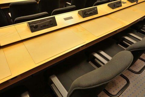 Palais-des-Nations/会議室の椅子