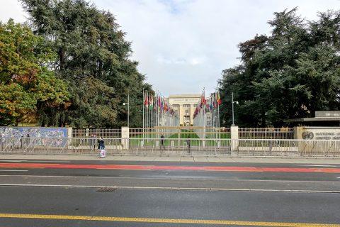 Palais-des-Nations/国旗