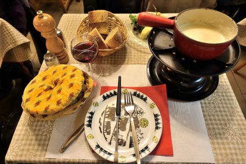 auberge-de-saviese/チーズフォンデュ