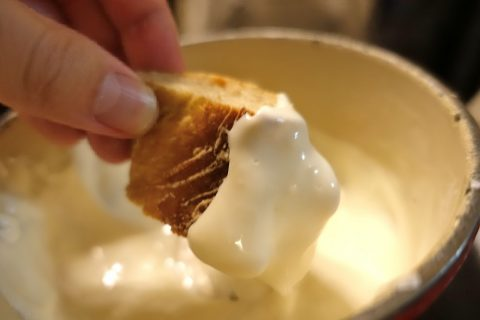 auberge-de-saviese/パンにチーズ