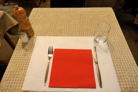 auberge-de-saviese/テーブルセッティング