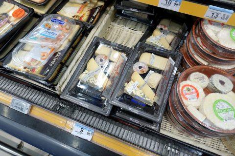 フランスのチーズ食べ比べセット