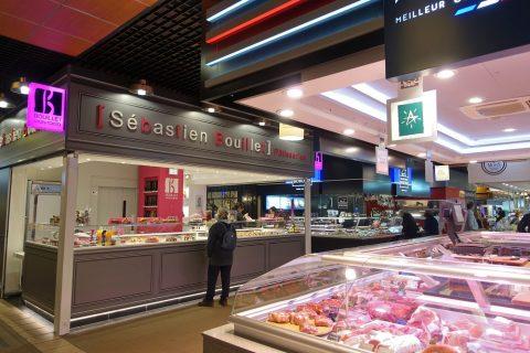 リヨン中央市場の内部