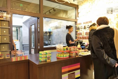 francois-ralus-lyon/店内とカウンター