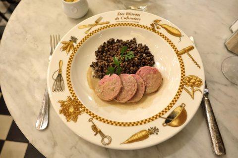 le-bistrot-de-lyon/レンズ豆とソーセージ
