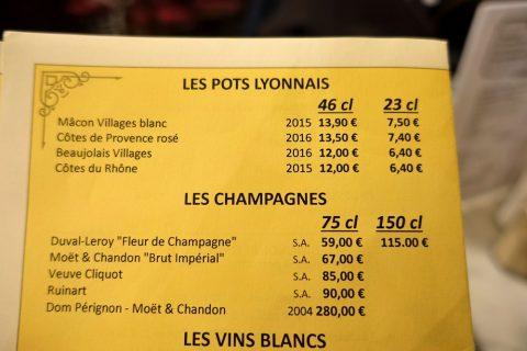 le-bistrot-de-lyon/ワインリスト
