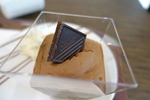 lindt-lyon/チョコレートムース