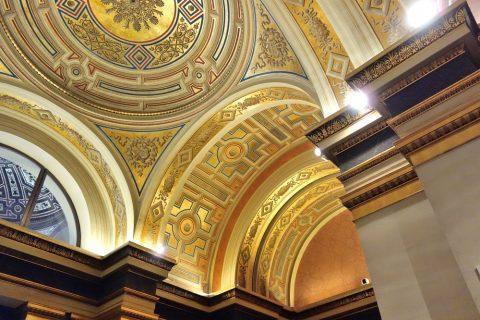 musikverein/エントランスロビーの天井