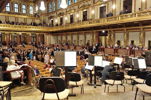 musikverein/ステージ上の席