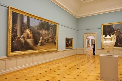 Musee-d-art-et-d-histoire-geneva/美術エリア