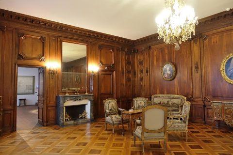 Musee-d-art-et-d-histoire-geneva/王宮の様な部屋