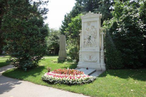 Wiener-Zentralfriedhof/シューベルトの墓