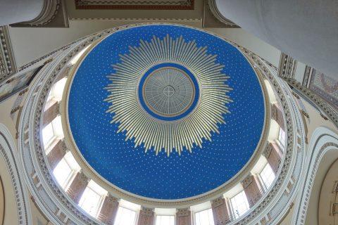 Wiener-Zentralfriedhof/教会の天井