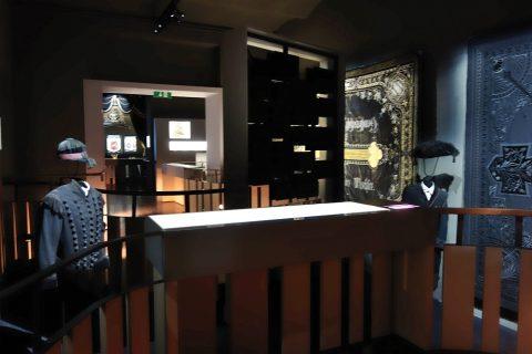 Wiener-Zentralfriedhof/博物館の内部