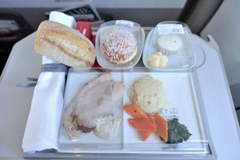 機内食/エールフランス国内線ビジネスクラス