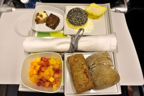 airfrance-businessclass-paris-london/機内食