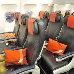 エールフランスA320【ビジネスクラス】搭乗記!シート&機内食(パリ~ロンドン)