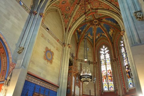 cathedrale-saint-pierre-geneva/マッカビー礼拝堂の天井