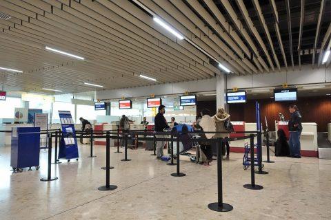 geneva-airport-airfrance-checkin/カウンター