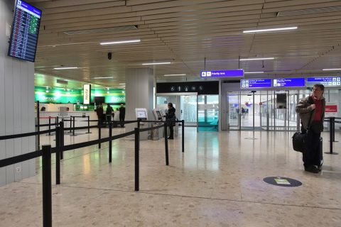 geneva-airport/フランス領の出口