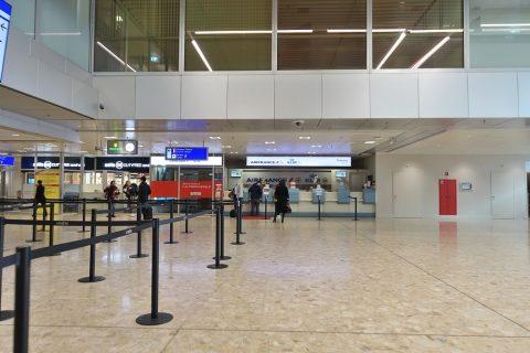 geneva-airport-airfrance/チケットカウンター