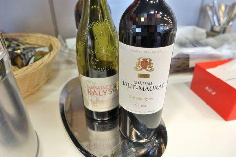 geneva-airport-lounge/白ワインと赤ワイン