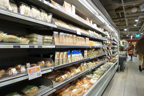 スーパーMIGROSの惣菜売場