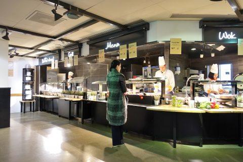 ジュネーブ/セルフ式レストラン