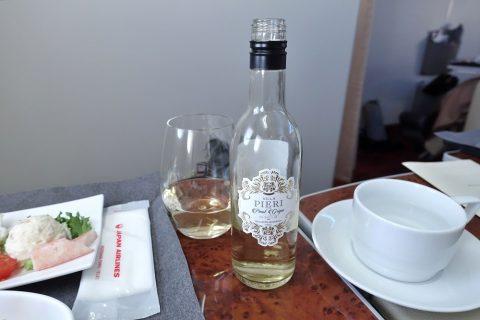 jal-firstclass-domestic-drinks/白ワイン