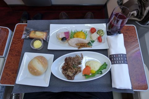 jal-firstclass-domestic-meals/洋食1
