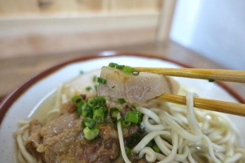 makishi-soba/三枚肉
