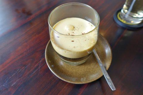 Mint-cafeのエッグコーヒー