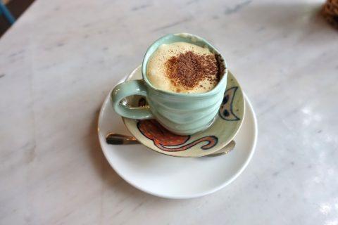 Papaya-cafeのエッグコーヒー