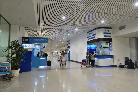ho-chi-minh-airport/到着ロビー