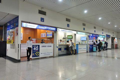 ho-chi-minh-airport/両替所